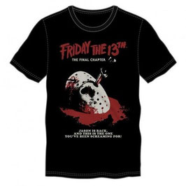 『FRIDAY THE 13TH』POSTER  Tシャツ