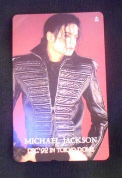 Michael Jackson テレフォンカード 1992年 12月 東京ドーム
