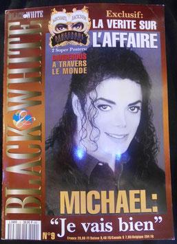 MJファン雑誌(フランス)「BLACK & WHITE」(ポスターなし)