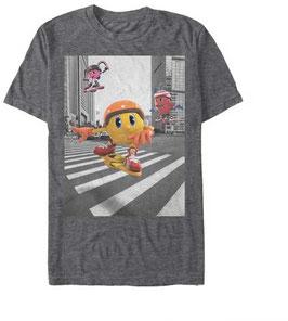 PAC-MAN RETRO POSTER  Tシャツ