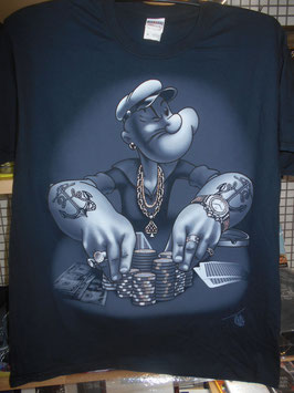 POPEYE URBAN POKER MENS Tシャツ