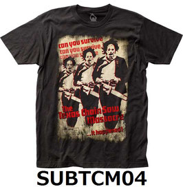 『悪魔のいけにえ』(The Texas Chain Saw Massacre)Tシャツ(SUBTCM04)