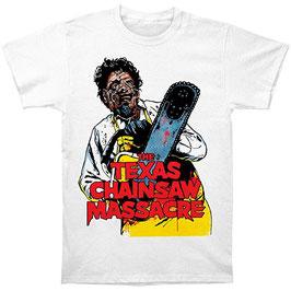 『悪魔のいけにえ』(The Texas Chain Saw Massacre)Tシャツ(イラスト)