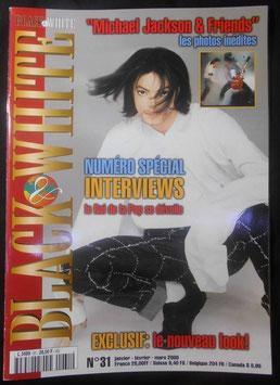 2000年MJファン雑誌(フランス)「BLACK & WHITE」NO.31
