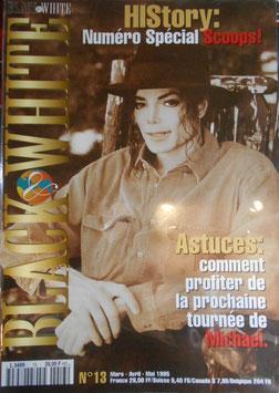 1995年MJファン雑誌(フランス)「BLACK & WHITE」NO.13