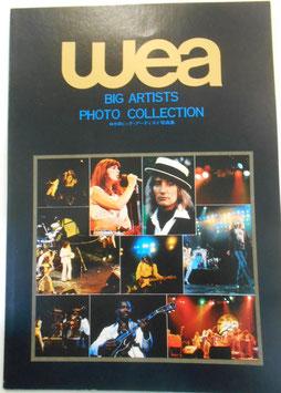 『wea』 ビッグアーティスト プロモーション用 写真集