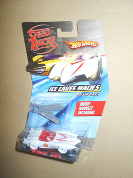 スピード・レーサー HOT WHEELSミニカー  「ICE CAVES MACH 5」 w/ Saw Blades  1:64