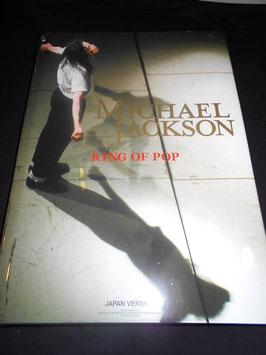 MICHAEL JACKSON (写真集)KING OF POP / JAPAN VERSION (10000万部限定)