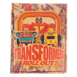 Transformers Sublimated Print 30th Anniversary Bi-Fold Wallet