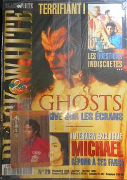 1997年MJファン雑誌(フランス)「BLACK & WHITE」NO.20(未開封・トレカ付録つき)