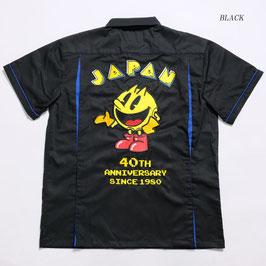 "PAC-MAN  ""40th""記念 ワーク シャツ"