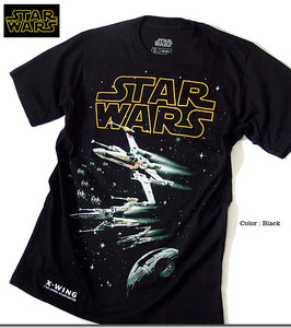 STAR WARS  X-WING  プリント  Tシャツ