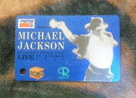 Michael Jackson 1993年 BANGKOK LIVE チケット