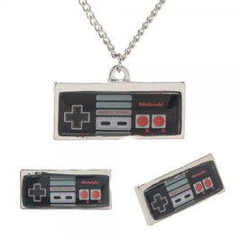 Nintendo Controller Necklace and Ear Ring Set