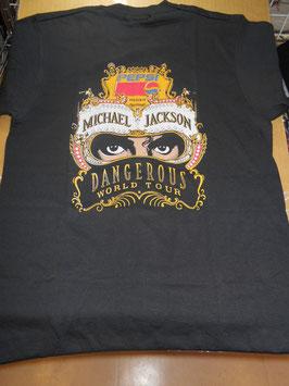 DANGEROUS ワールドツアーTシャツ(非売品ステッカー付き)