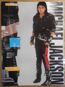 MICHAEL JACKSON 1988年 BAD JAPAN TOUR パンフレット(東京ドーム版)