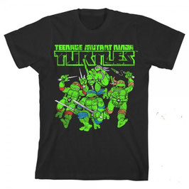 Teenage Mutant Ninja Turtles Boys Glow Tシャツ