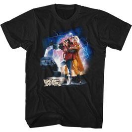 『バック・トゥ・ザ・フューチャー』(Back to the Future)Tシャツ(ポスター)