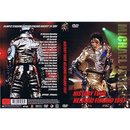 DVD:MJ History Tour in Finland 1997