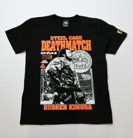 ラッシャー木村-金網デスマッチの鬼-Tシャツ