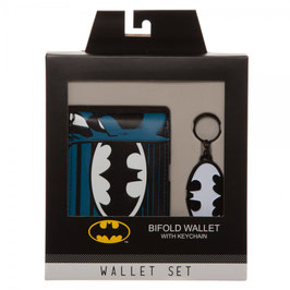 Batman Wallet/Keychain Set