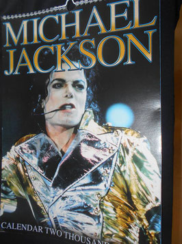 MICHAEL JACKSON 2003 CALENDAR  PUBLISHED BY STREET HASSLE