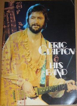 Eric Clapton 1977年 日本公演パンフレット