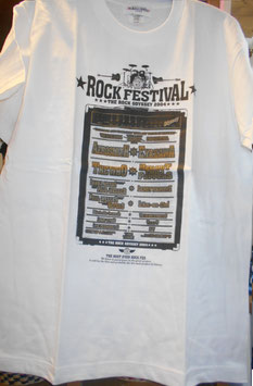 POCARI SWEAT BLUE WAVE THE ROCK ODYSSEY 2004 Tシャツ