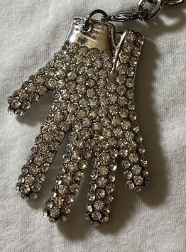 「Ponte 16」スワロフスキー  MJ  GLOVE  BIG  Bag  Charm