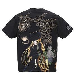 銀河鉄道999 謎の美女メーテル  刺繍   Tシャツ