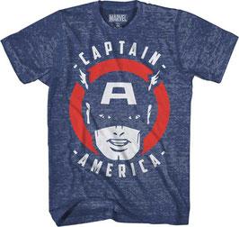 Captain America  SPIRAL CAPTAIN 2 MENS  Tシャツ