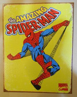 SPIDERMAN アメリカンブリキ看板