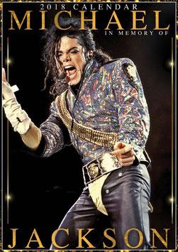 Michael Jackson Official 2018 Calendar - A3 Poster Format(C)