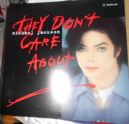 MICHAEL JACKSON / THEY DON'T CARE ABOUT US 12インチ×2 US盤(1996年)