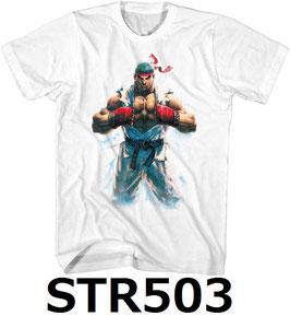 Street Fighter  リュウ  Tシャツ