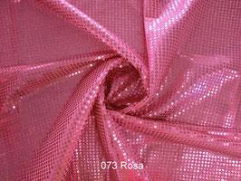 Pailettenstoff -Rosa-