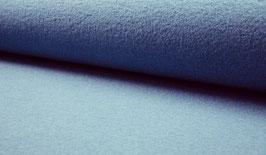 Walkloden 100% Schurwolle -Jeansblau-