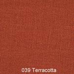 Leinenstoff -Terracotta-