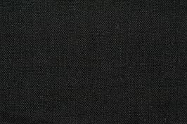 Leinenstoff -Schwarz-