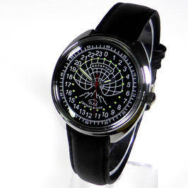 Russian 24hr watch ARCTICA  by TRIUMPH with VOSTOK movement, chrome plated, polished, ø39mm