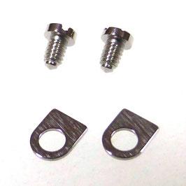 1 Paar POLJOT Werkhaltelaschen für die 31-er Chronowerkfamilie für Standardgehäuse von POLJOT