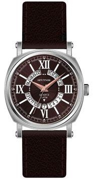 Armbanduhr SPUTNIK, Quarz, verchromt, poliert, ø43mm