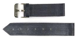 Uhrarmband für Russische Kampftaucheruhr aus Slatoust, 24mm, gebürstete Dornschließe