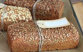Bio-Honig-Salz-Brot, Sonnenblumenkerne Weizenvollkornbrot