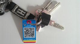 1 Bestellung enthält 3 Key-Finder flach