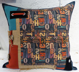 Coussin Lettres 2