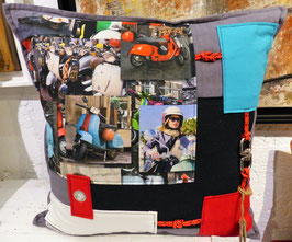 Coussin Scooter italie