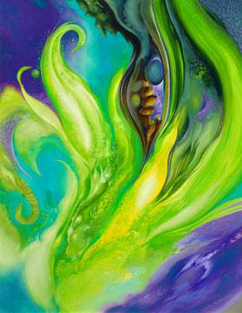 Kunstdruck - Farben des Regenwaldes
