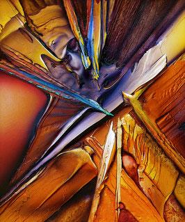 Kunstdruck - Kampf um die Mitte