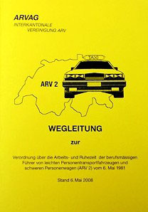 ARV2 Wegleitung (ganze Schweiz Landtaxi)